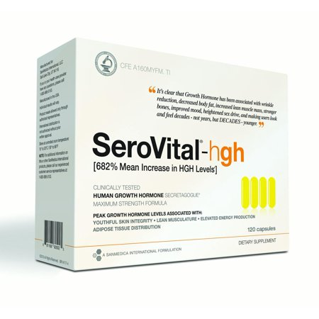 Serovital hgh pills review