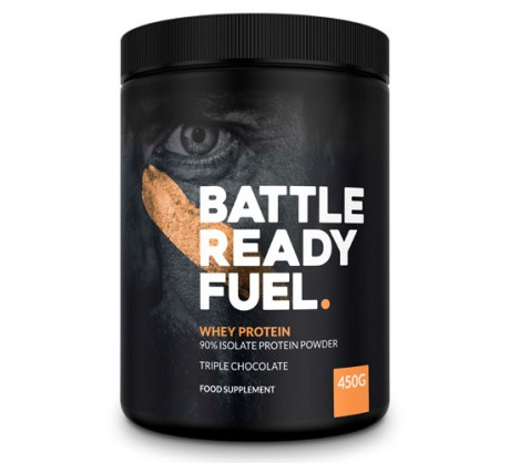 Battle Ready Fuel Whey Protein Powder
