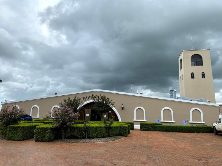 Exterior view of Bimbadgen winery