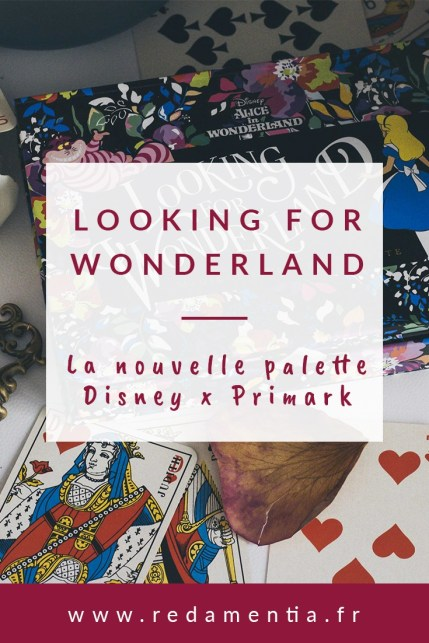 Palette Disney x Primark Looking for Wonderland