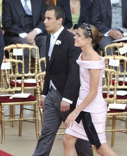 Charlotte Casiraghi veste Chanel al matrimonio di Alberto e Charlene