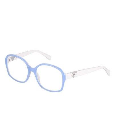 Prada occhiali bicolore con astine a contrasto