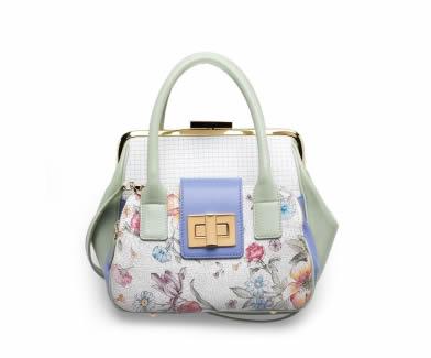 Braccialini borsa a fiori Clio Primavera Estate 2012