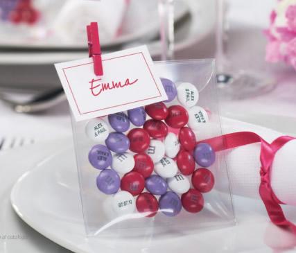 M&M bomboniere e confetti segnaposto per Matrimonio, Battesimi, Compleanni