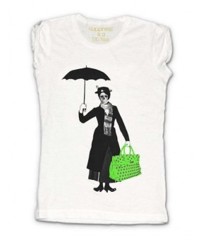 Mia Bag T-Shirt con Mary Poppins