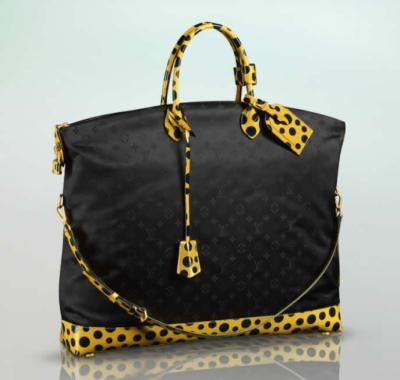Vuitton Lock It Monogram Nylon Dots Infinity