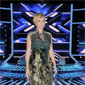 Simona Ventura veste Ferragamo a X Factor 2012