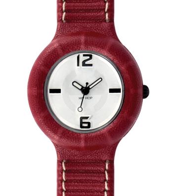 Hip Hop orologio con cinturino in pelle