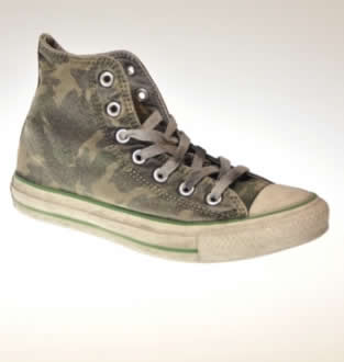 Converse camouflage limited edition