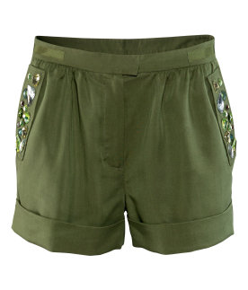H&M Conscious collection shorts militari
