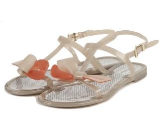 Furla sandali piatti in gomma