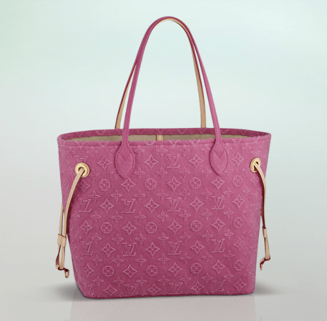 Vuitton Neverfull Stone rosa