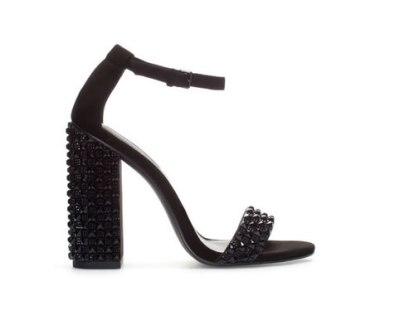 Zara sandali con strass