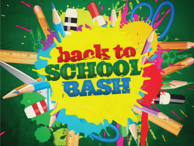 Back to School Bash August 24