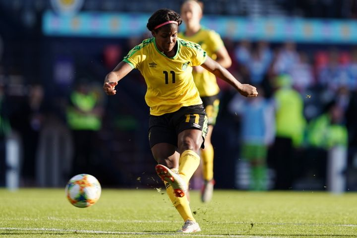 With the backing of Bob Marley's daughter, Khadija Shaw and the Reggae Girlz have revived women's soccer in Jamaica and will