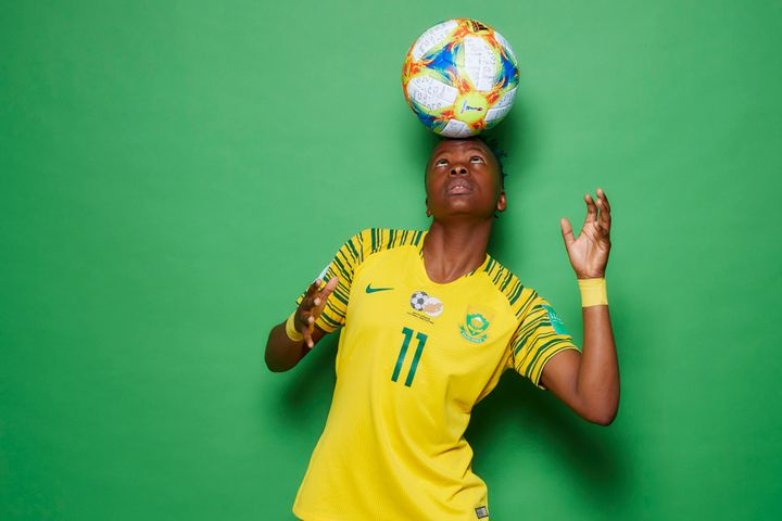Thembi Kgatlana and South Africa finished second at the 2018 Africa Cup of Nations.