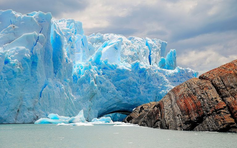 Perito Moreno Glacier is the third-largest freshwater source and also a glacier that is growing instead of shrinking.