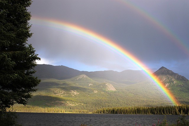 Double Rainbow Meaning In Bible