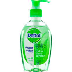 Dettol Antibacterial Refresh With Aloe Vera Instant Hand Sanitizer Pump - 200ml