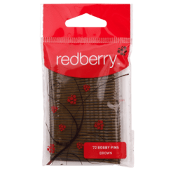 Redberry Brown Bobby Pins