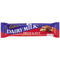 Cadbury Dairy Milk Fruiit & Nut Chocolate Bar - 50g