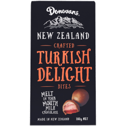 Donovans Turkish Delight Milk Chocolate Bites - 180g