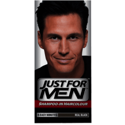 Just For Men Shampoo-In Real Black Hair Colour