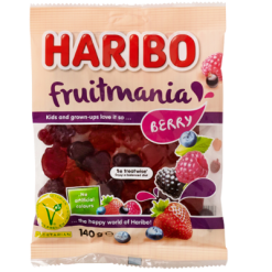 Haribo Fruitmania Berry Confectionery - 140g