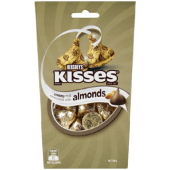 Hershey's Creamy Milk Chocolate Kisses with Almonds - 108g