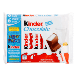 Kinder Milk Chocolate 6 Bars - 126g