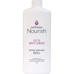 Earthwise Nourish Lily & White Ginger Natural Hand Wash Refill - 500ml