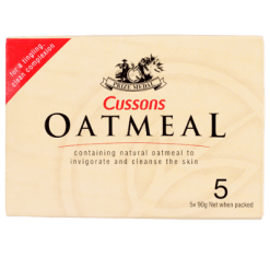 Cussons Prize Medal Oatmeal Soap - 5pk