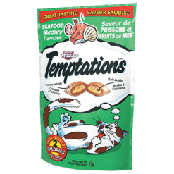 Whiskas Temptations Seafood Medley Treats For Cats - 86.7g