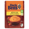 Uncle Ben's Mexican Style Microwave Rice Pouch - 250g