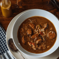 Chef Isaac Toups Chicken and Sausage Gumbo