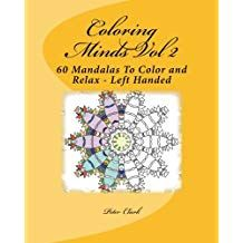 Coloring Minds Volume 2 Mandala Coloring Book LH - Redberry Quiz Books 85ccd65a636