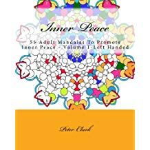 Inner Peace 1 Coloring Book Left Handed