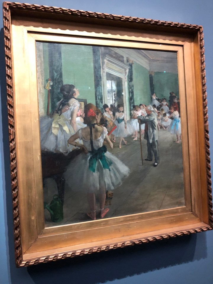 Degas museo d'orsay