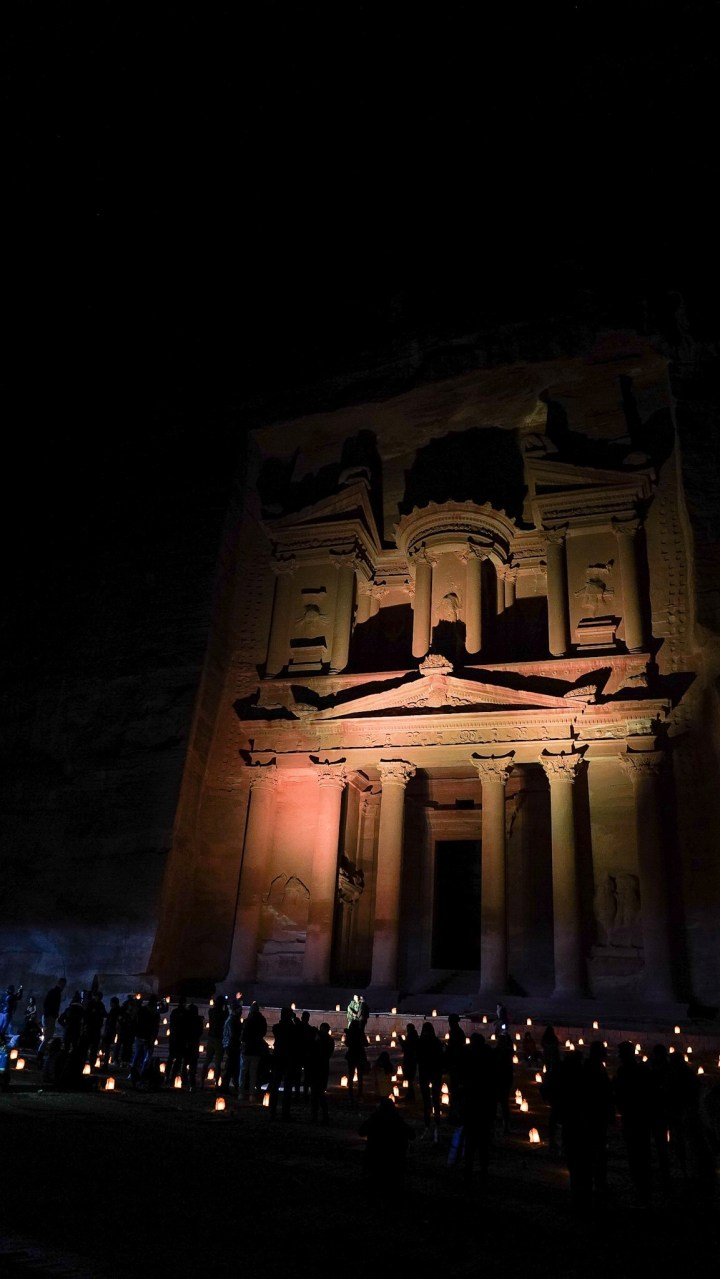 Petra by night redbetter