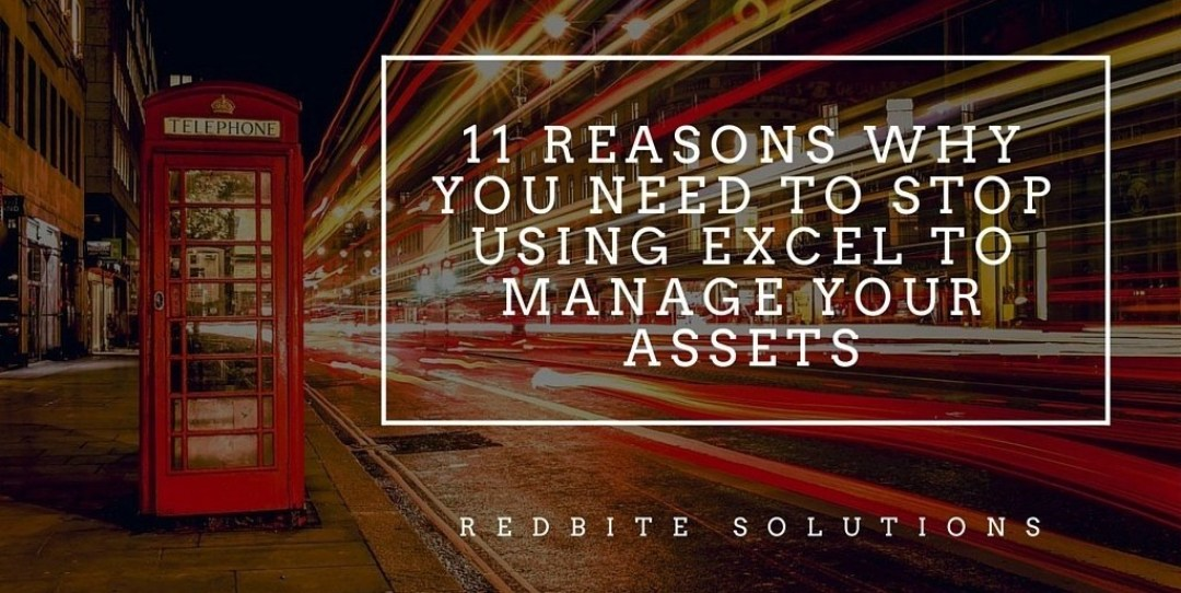 RedBite - Stop using Excel for asset management