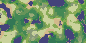 Making maps with noise functions It s cool that noise can be used to place trees  but other algorithms  such  as Poisson discs  Wang tiles  or graphics dithering  are often more  efficient