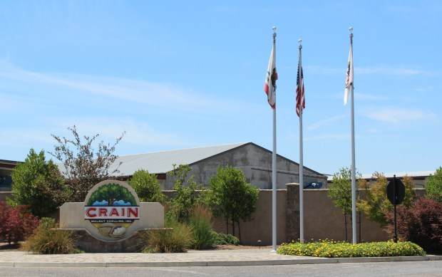 The exterior of Crain Walnut Shelling, Inc. outside of Los Molinos. (Jake Hutchison - Daily News)