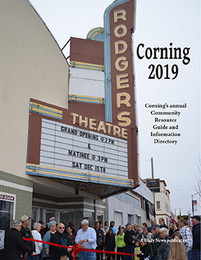 Corning's annual Community Resource Guide and Information Director