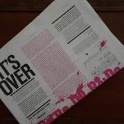 Blow. Newspaper 10 year anniversary edition.