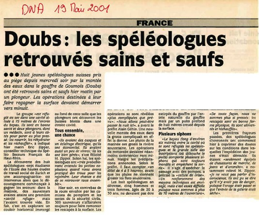 2001 Goumois 3