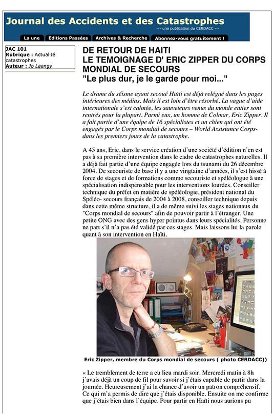 2010 02 JAC 101 Interwiew Eric ZIPPER-1