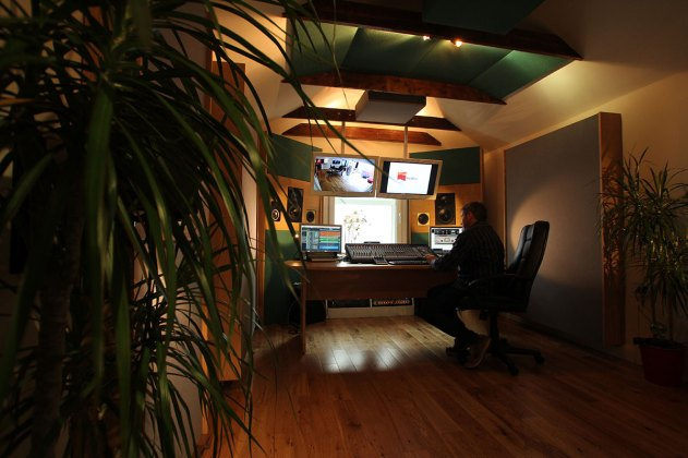 Cormac O'Kane at RedBox Recording Studios Belfast Mastering Suite