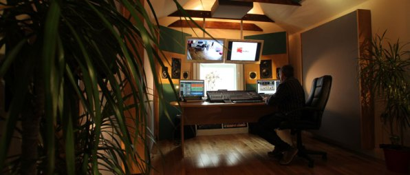 Belfast audio mastering suite