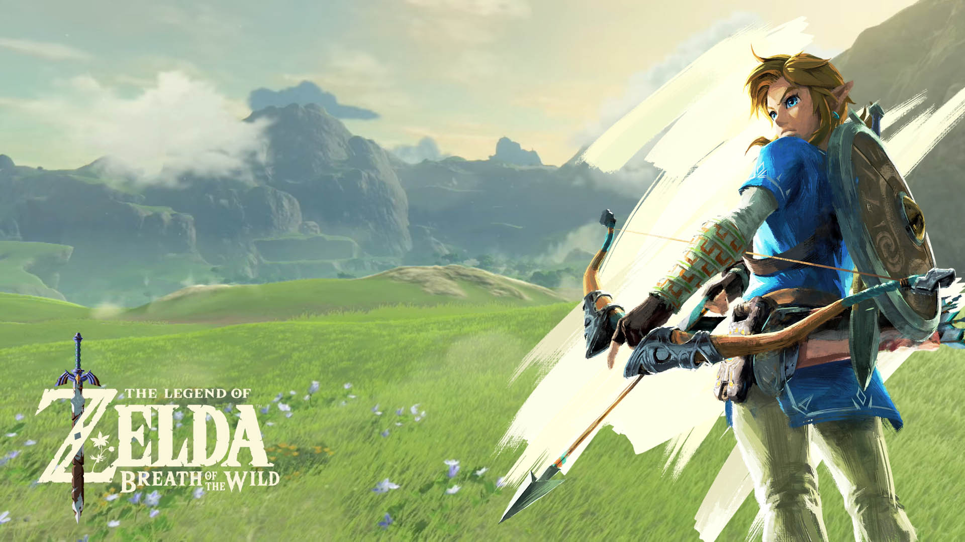 Link The Legend Of Zelda Breath Of The Wild Wallpaper 7136 Redbrick