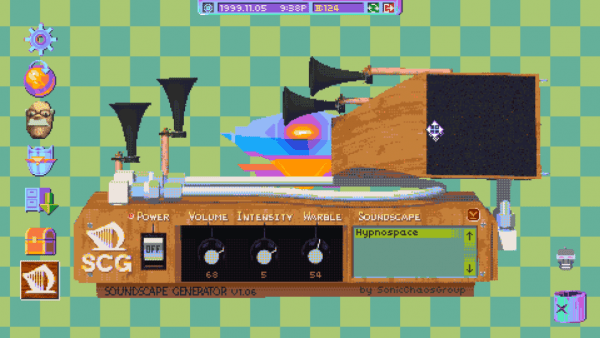 Hypnospace outlaw, shown at EGX, boasts a state-of-the-art 90s interface.